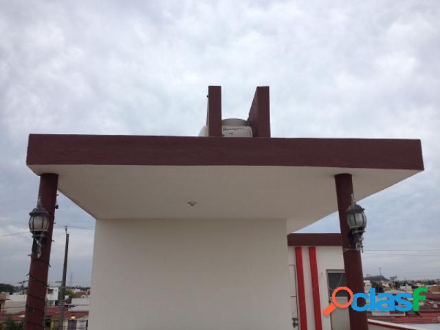 Casa sola en renta en fraccionamiento geovillas del puerto, veracruz