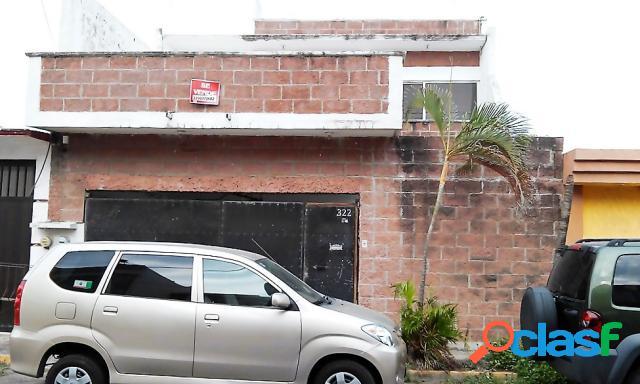 Casa sola en venta en Fraccionamiento Flores Del Valle, Veracruz