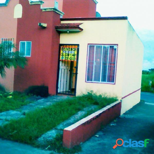 Casa sola en venta en Fraccionamiento Las Palmas, Veracruz