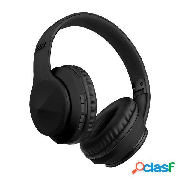 Acteck audífonos con micrófono void, bluetooth, alámbrico/inalámbrico, 3.5mm, negro
