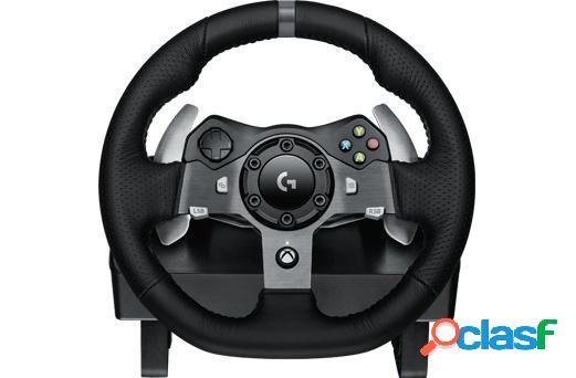 Logitech volante + pedales g920, alámbrico, usb, negro, para pc/ xbox one