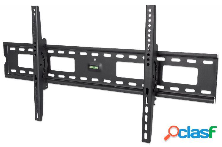 Montaje soporte de pared con ajuste vertical para pantalla 37'' - 70'' o 75kgs, negro