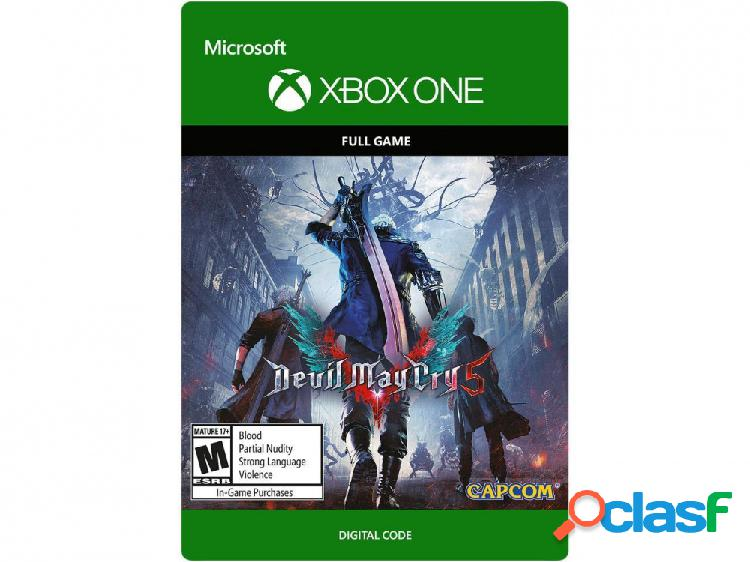 Devil may cry 5, xbox one - producto digital descargable