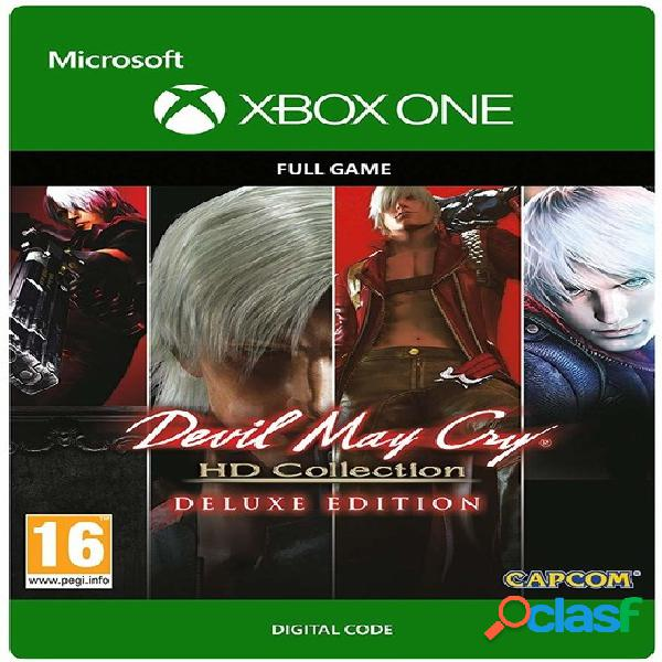 Devil may cry hd collection & 4se bundle, xbox one - producto digital descargable