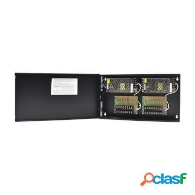 Epcom fuente de poder para cámaras cctv, 16 canales, entrada 100 - 240v, salida 12v