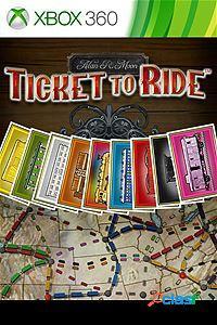 Ticket to ride, xbox 360 - producto digital descargable