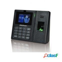 Zkteco control de asistencia biométrico lx14, 500 usuarios, usb 2.0, negro - no incluye relevador para abrir puertas