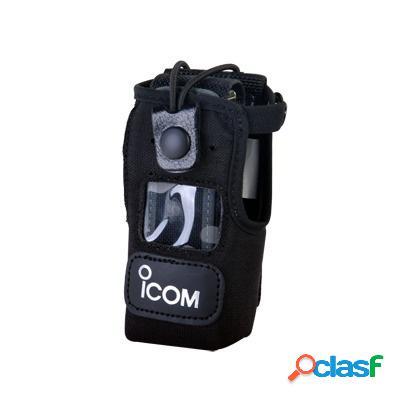 Icom funda de nylon nc-f3021s-clip, negro, para icom