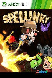 Spelunky, xbox 360 - producto digital descargable