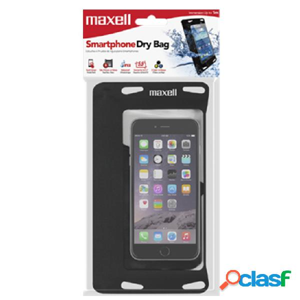 Maxell Funda Sumergible para Smartphone 5.5'', Transparente