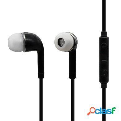 Brobotix audífonos intrauriculares con micrófono 963349, alámbrico, 1 metro, 3.5mm, negro