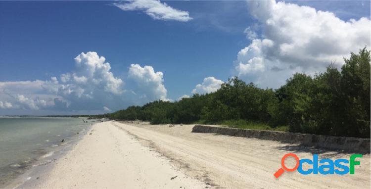 Terreno de playa holbox 7812.7 las nubes.