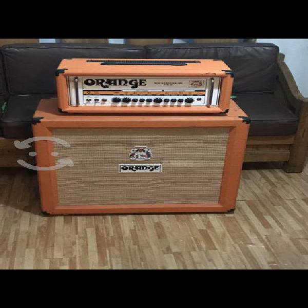 Amplificador orange rockerverb 100 y gabinete 4x10