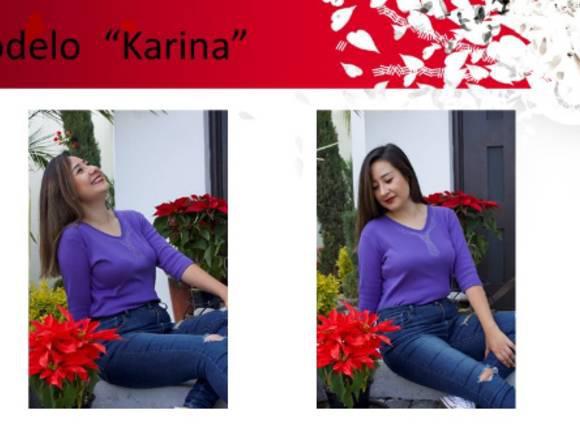 Fashion - Blusa Modelo Karina