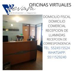 Renta de oficinas virtuales con domicilio fiscal