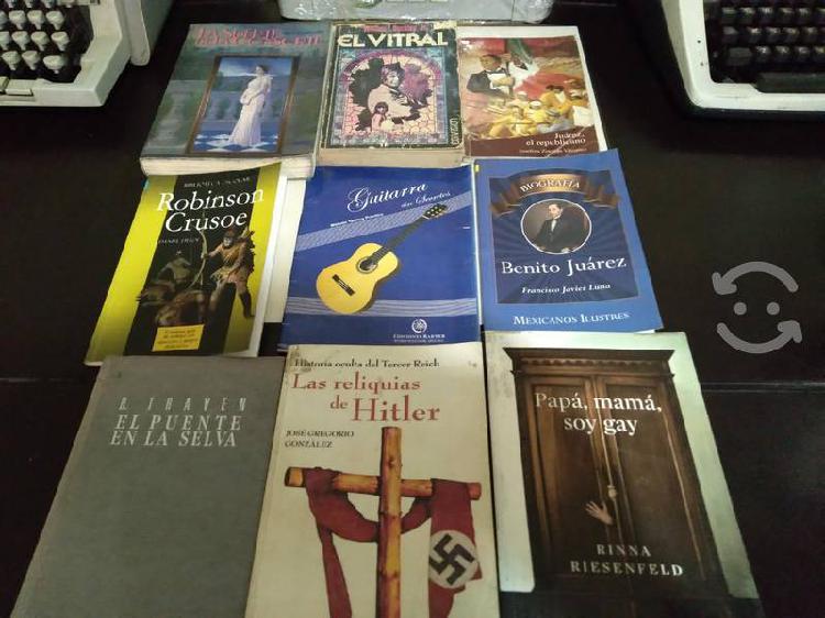 Lote de libros (biblioteca personal)