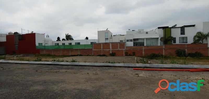 Terreno en venta en San Andrés Cholula Puebla Rincón Morillotla 6