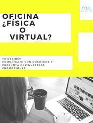 Renta oficina virtual o física con nosotros y no busques