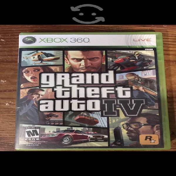 Caja de grand theft auto 4