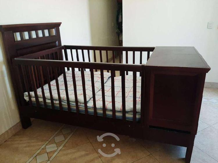 Cuna / cama individual con doble buró