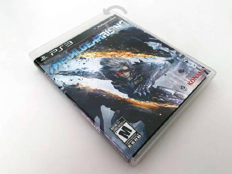 Juego consola ps3 metal gear rising revengeance