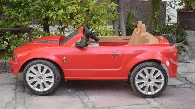 Mustang electrico fisher price / power wheels