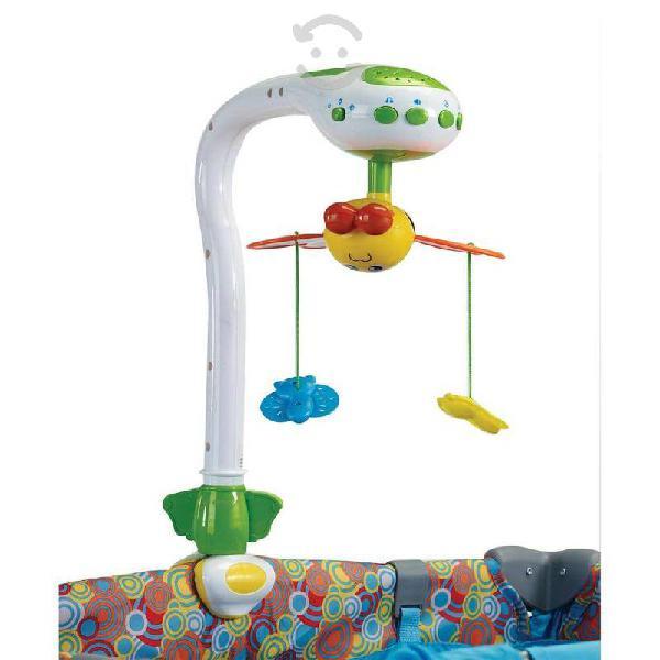 Móvil musical para bebé gira 360°
