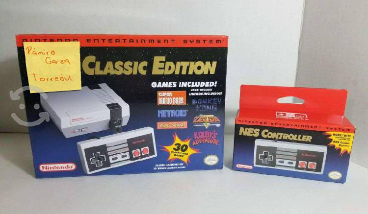 Nintendo nes mini classic control extra