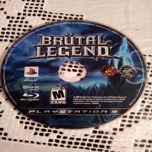 Ps3 brutal legend video juegos no trae caja