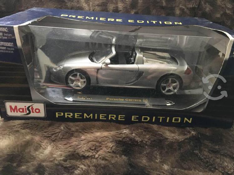 Porsche carrera gt, maisto, nuevo, empacado