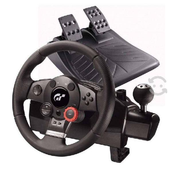 Volante logitech driving force gt pc ps3