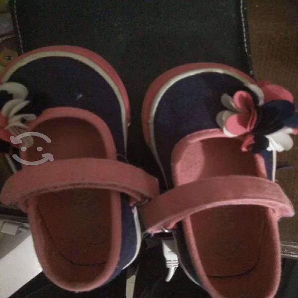 Zapatos bebe niña marca circo talla 6 us, 12cm mx