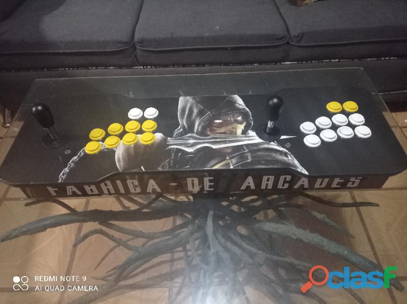 ? tablero árcade retro orange pi con 13,000 juegos, memoria de 64gb y botones tipo sanwa