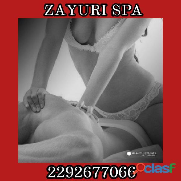Zayuri Spa, sesiones para caballeros y parejas, hacemos fantasìas..