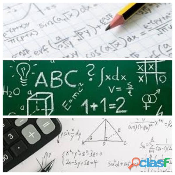 Clases de Matemáticas CDMX. Agenda clases en vivo.