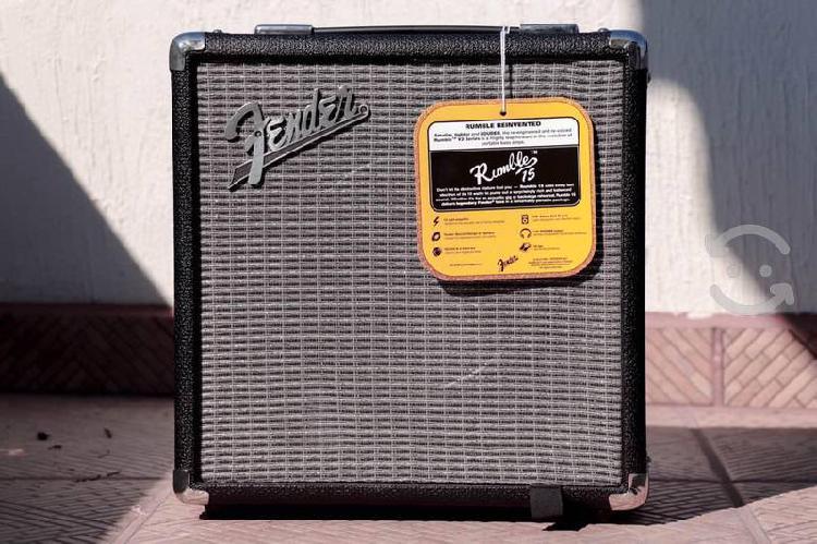 Amplificador fender rumble series 15 v3