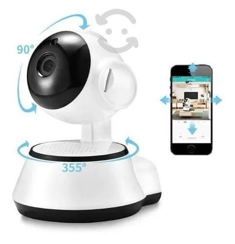 Camara ip videovigilancia cctv seguridad wifi alar