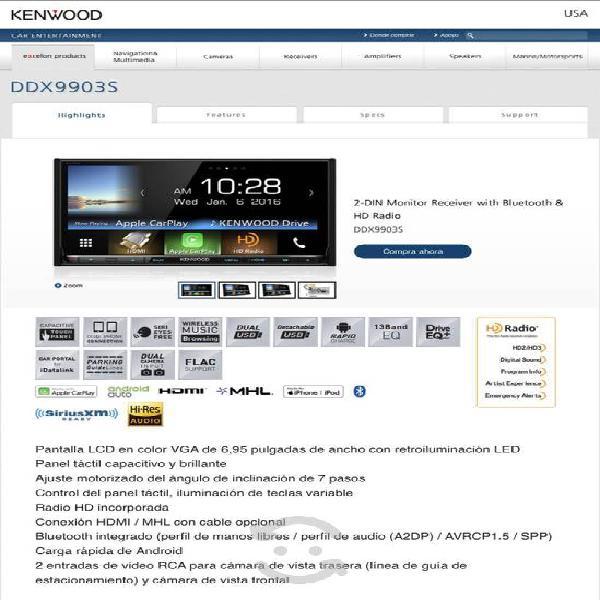 Kenwood excelon ddx9930s