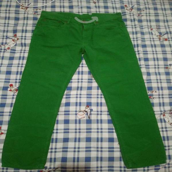 Pantalón casual slim de hombre original talla34x32