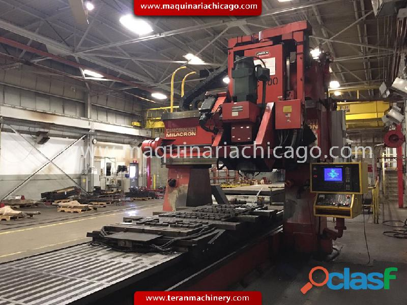 Fresadora puente cnc 5 ejes cincinnati milacron en venta!