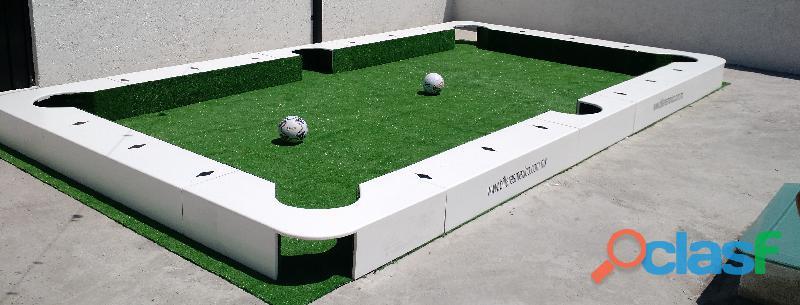 La mesa de billar y futbol mas grande