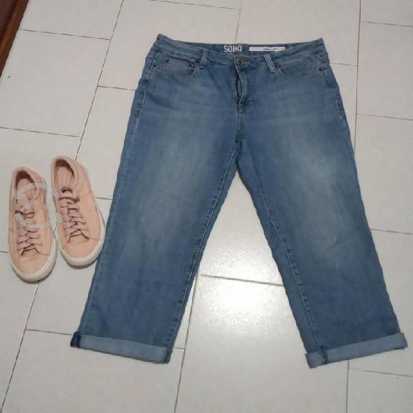 Pantalón capri dkny jeans (32)