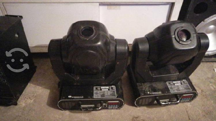 Vendo par de cabezas robóticas trabajando al cien