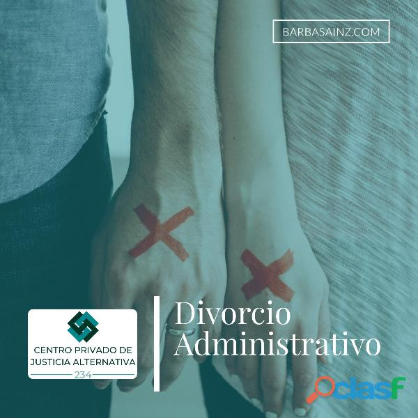 Divorcio Administrativo en Zapopan (Centro Privado)