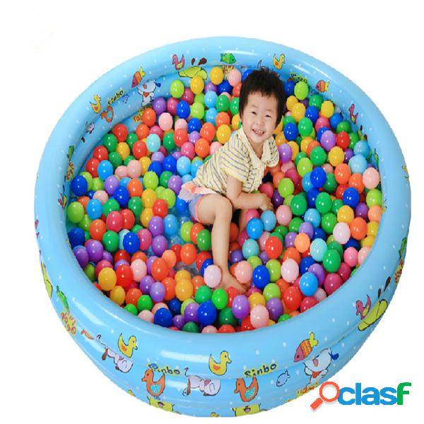 20 piezas colorful plastic ocean ball baby kids toys swim pit