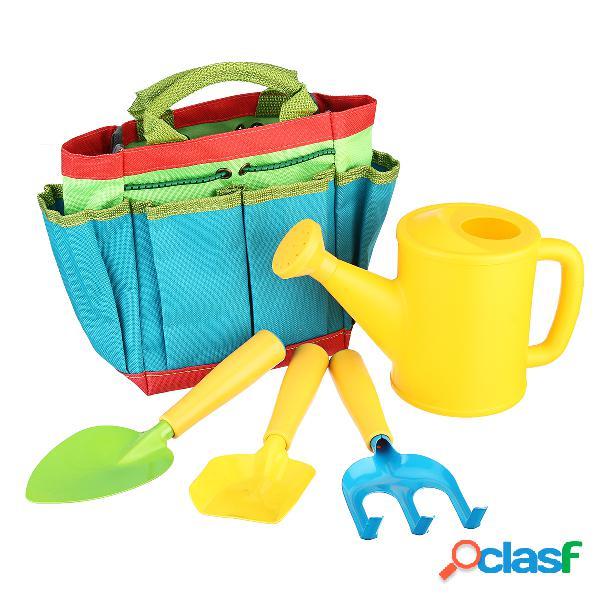 Juegos de herramientas de jardinería para niños kit de herramientas de jardín para niños bolsa pala juguetes de herramientas de jardín para niños