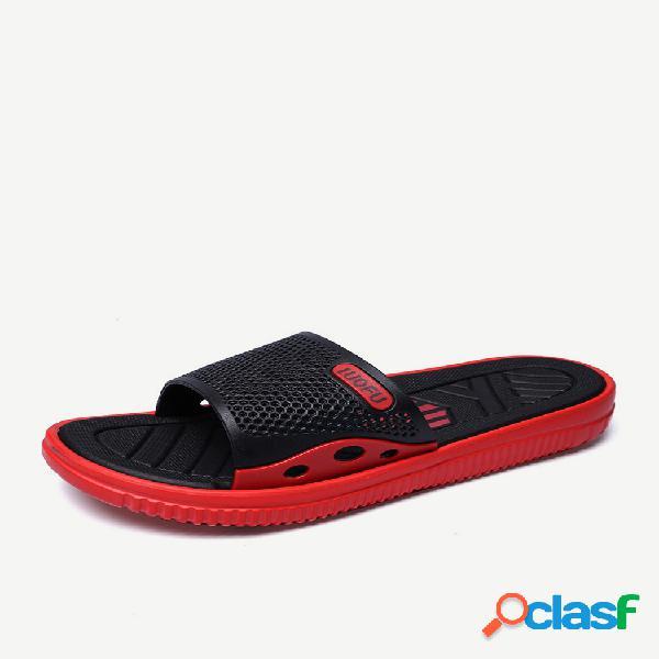 Nueva palabra de año nuevo zapatillas hombre de gran tamaño para hombre tide drag tendencia de moda casual zapatos antideslizantes para interiores