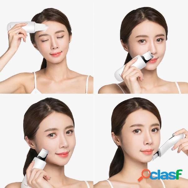Depurador facial ultrasónico equipo de cuidado de la piel exfoliante instrumento de belleza de limpieza smartchip