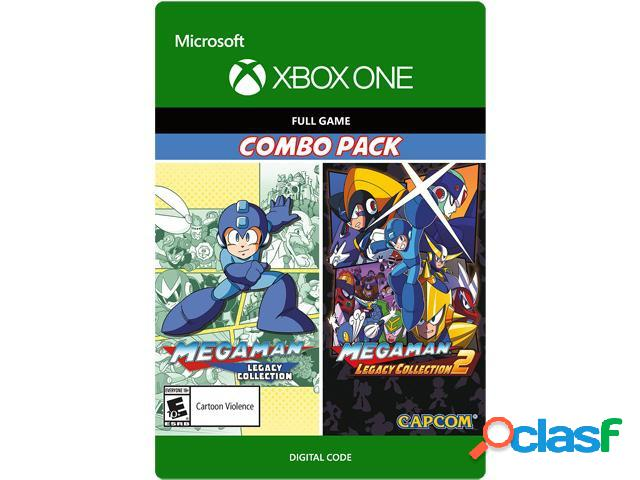 Mega man legacy collection 1 & 2 combo pack, xbox one - producto digital descargable