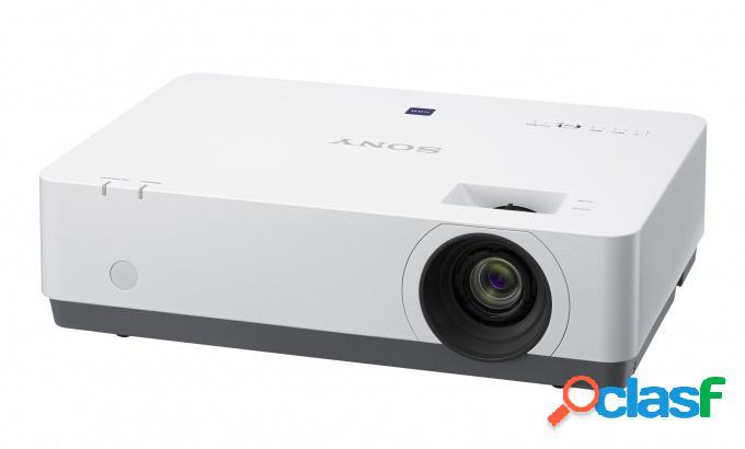 Proyector sony vpl-ex455 3lcd, xga 1024 x 768, con bocinas, blanco